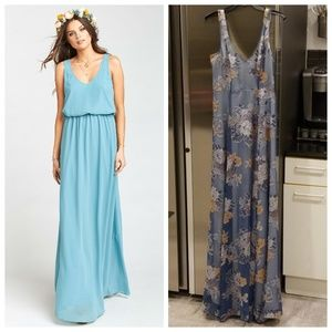 SHOW ME YOUR MUMU Floral Chiffon Maxi Dress